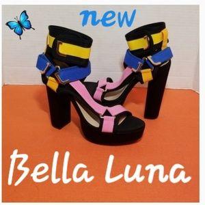 Bella Luna Heels  Shoes